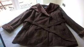 Womens Dannimac winter coat (size 24)