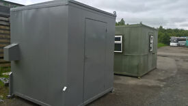 "PORTABLE CABIN-7' X 7' SHIPPING CONTAINER WITH ELECTRICS, INSULATION AND LINING""TOOLSTORE"
