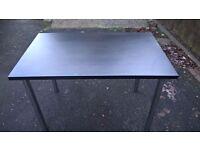 Table with Chrome legs