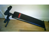 York Fitness Sit Up Abs Bench