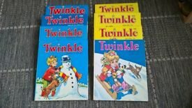 Twinkle Annuals for sale, good condition.