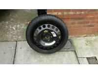Vauxhall 5 stud spare wheel