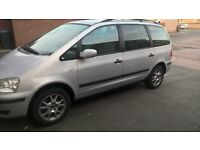 7 seater ford galaxy auto ..lpg