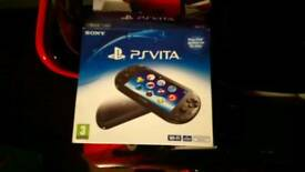 Ps vita boxed with games