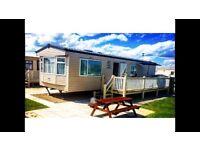 Luxury 6 birth caravan to rent - Golden Palm resort Chapel st Leonards