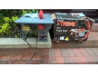 POWERBASE XTREME 800W TABLE SAW USED ONCE