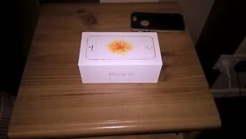 I Phone SE brand new in box - never been used on 3 Network. Rose Gold colour.