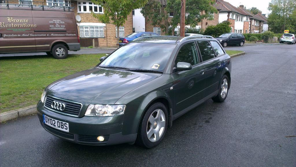 2002 audi a4 1 9 tdi diesel estate low mileage in. Black Bedroom Furniture Sets. Home Design Ideas