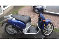 ITALJET TORPEDO 50cc RUNNER SPARES OR REPAIR NO MOT CAT-C