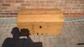 antique pine whiskey chest for sale - £50