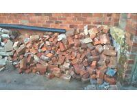 FREE Broken Bricks, Broken concrete and Tiles(broken and whole) for hardcore