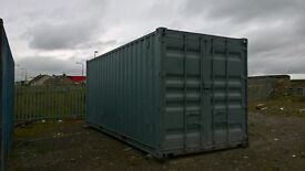 SHIPPING CONTAINER - PORTABLE CABIN - 20ft - STORAGE CONTAINER