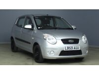 KIA PICANTO 1 MOT OCTOBER 5 DOOR HATCHBACK 2009 59 PLATE