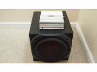 Car subwoofer Sony Xplod 1100Watts