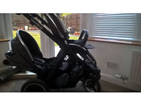Oyster Max 2 Double Tandem Pram Buggy