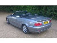 BMW 325 Ci Convertible Auto 2003 Only 64000 miles