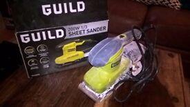 Guild 200w sheet / power sander. £20