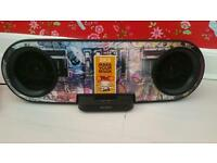 Sony SK8IP iPod and iPhone docking station boom box