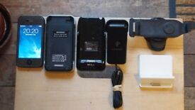 Apple iPhone 4 / Black / 16 GB /- Selling For use as iPod / Plus Accessories