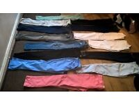 selection of jeans size 10