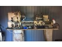 Raglan five inch centre lathe with tooling