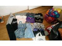 Girl's clothes from Zara, River Island, primark and other