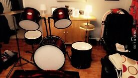 Matchetts drum kit, open to offer, in good condition