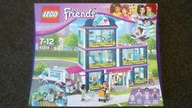 Lego Friends Heartlake Hospital 41318 BNIB