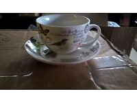SHABBY CHIC VINTAGE TEA CUP AND SAUCER BRAND NEW