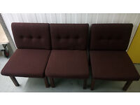 Low rise, relaxer chairs, 8 available, office, home, cafe etc