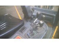 junghiendrick lpg fork lift truck