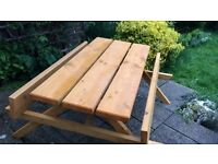 Picnic Benches 1.5m/5ft Hand Made Heavy Duty