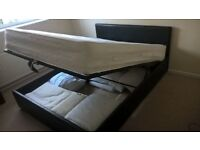 Ottoman storage bed, king size,good condition