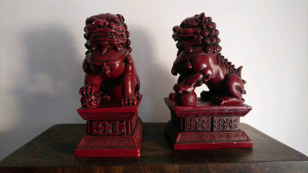 Chinese Foo Dogs Red In Stanway Essex Gumtree