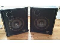 2 Stage speakers good for karaoke or even in a bedroom