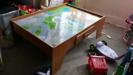 ELC Train table with draw
