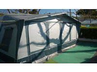 Inica Elba Awning 1050 + Large Annex