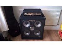 Behringer Bass Amp (BX4500H & BA410 Cabinet)