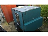 Eco Camping Trailer Pod.with off grid solar electrics (like teardrop) £1300 ono