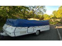 Conway Crusader 6 berth Folding camper Trailer tent 2005