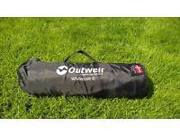 Outwell Flat Woven Carpet - Whitecove 6 270cm x 360cm