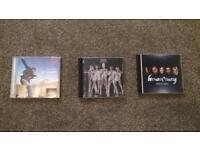 Will Young cd, Girls Aloud cd, Hear Say cd