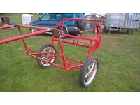 Horse Exercise Cart