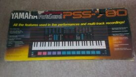Yamaha PSS - 780 Portasound Electronic Keyboard Piano Boxed