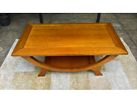 A Vintage Rosewood Coffee Table.