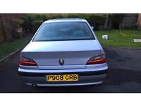 Peugeot 406 GLX Silver with MOT until 26-04-18. Tinted windows. Very good spacious family car