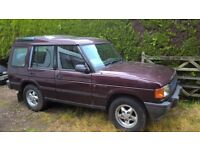 """Land Rover Discovery 300TDI """"S"""" Automatic / Very Low Mileage / Spares or Repair"""