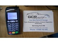 GCR Auto Bellshill Suspension Exhaust Clutches Brakes Tyres Wheel balancing