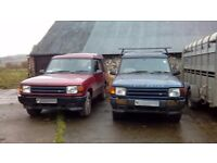 Land rover discovery x 2