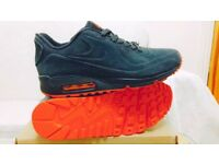 nike air max 90 hyperfuse suede grey red vt all sizes inc delivery paypal xx